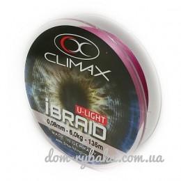Шнур CLIMAX iBraid 4 UL fluo-purple 135м (9998369)