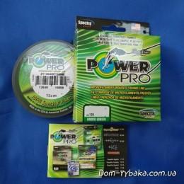 Шнур Power Pro 0,15мм 9кг 135м зеленый(9992864)