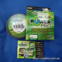 Шнур Power Pro 0,41мм 40кг 135м зеленый(9992868)