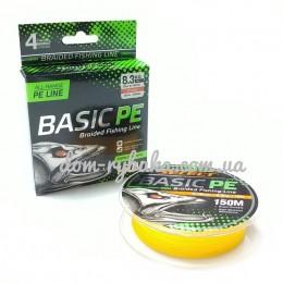 Шнур Select Basic PE 150м оранжевый (9998171)
