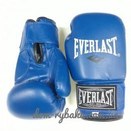 Перчатки боксерские Everlast  6oz синие EVDX380-6B (9998299)