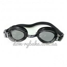 Очки для плавания Spurt 1100AF 11 Black детские (9998824)
