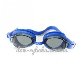 Очки для плавания Spurt 1100AF 12 Blue детские (9998822)