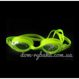 Очки для плавания Spurt SIL-20AF L. Green детские (9998817)