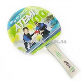 Ракетка для настольного тенниса Atemi 100 1 шт  (9998380)