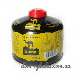 Баллон сжиженного газа Tramp 230гр резьбовой TRG-003 (9998182)