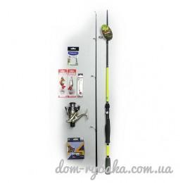 Набор для ловли спиннингом 6 предметов + подарок (9999057)