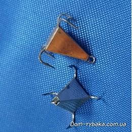"""Блесна вертикальная """"Пирамида"""" 18мм 4.7гр (9321077)"""
