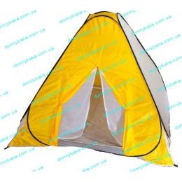 Палатка Ranger зимняя 2Х2Х1,4м желто-белая зима+лето антимоскитная сетка (9991574)