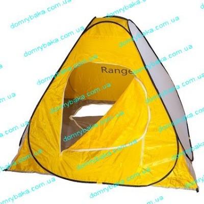 Палатка Ranger  Winter 5 зимняя 2Х2Х1,4м желто-белая арочный вход (9995883)