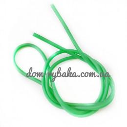 Резина полая ниппель 100см зеленая (9998287)